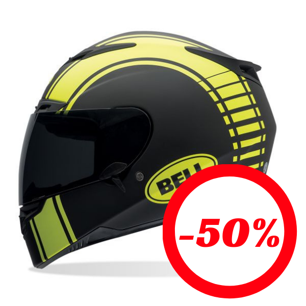 Capacete  BELL RS-1 Liner Preto/Fluo