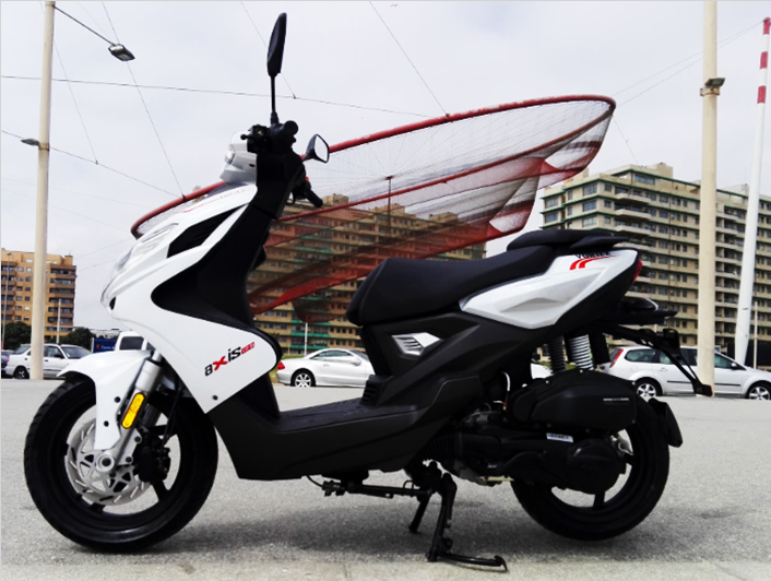 Vortex Scooter Axis White 125cc