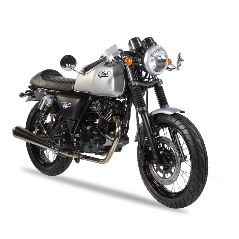 MASH CAFE RACER silver mate 125cc