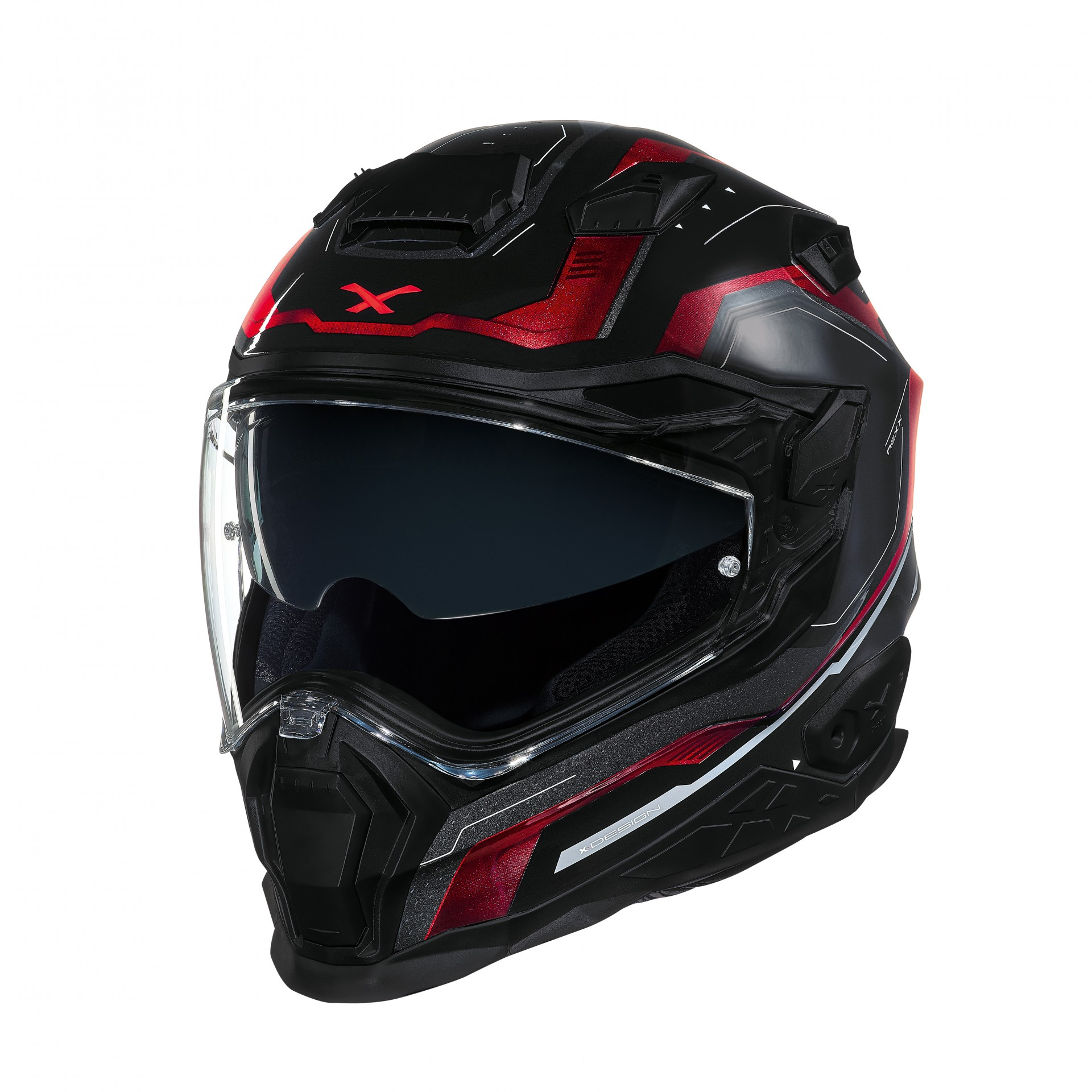Capacete Nexx X.WST-2 Supercell Preto/Vermelho