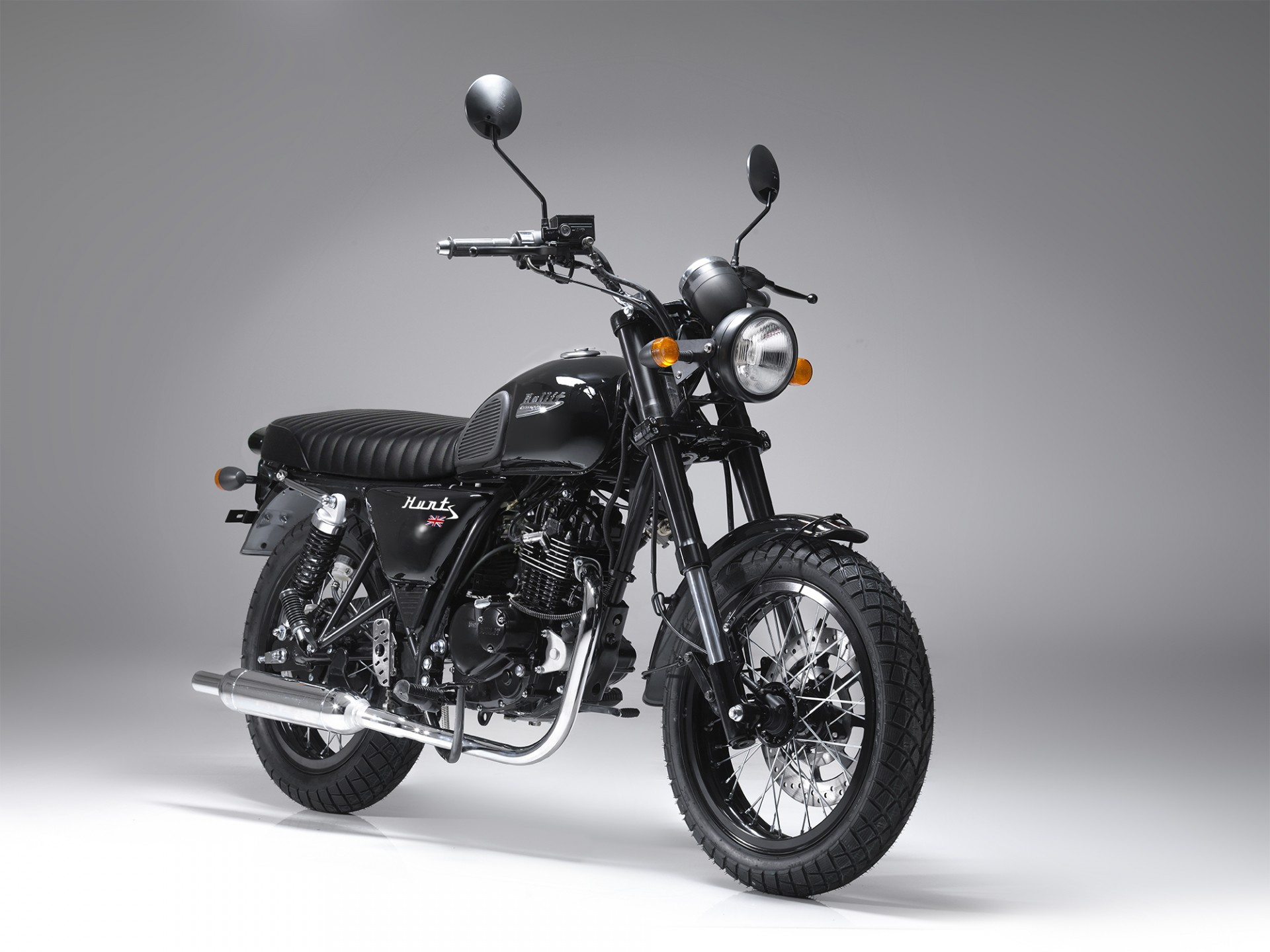 Bullit Hunt S Black 125cc
