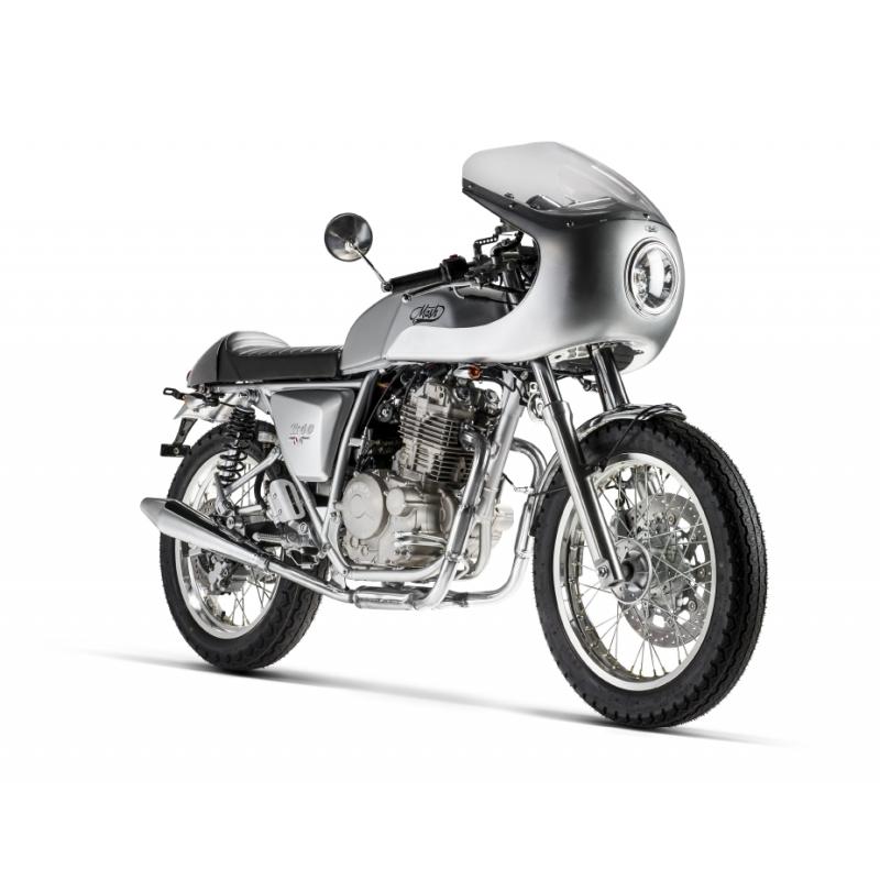 Mash TT 40 Cafe Racer Silver 400cc