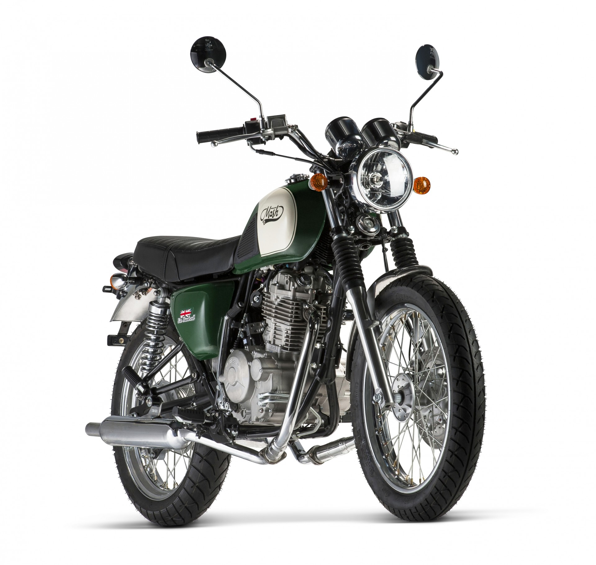 Mash Five Hundred Green 400cc
