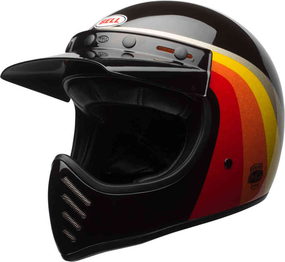 CAPACETE BELL MOTO 3 CHEMICAL CANDY