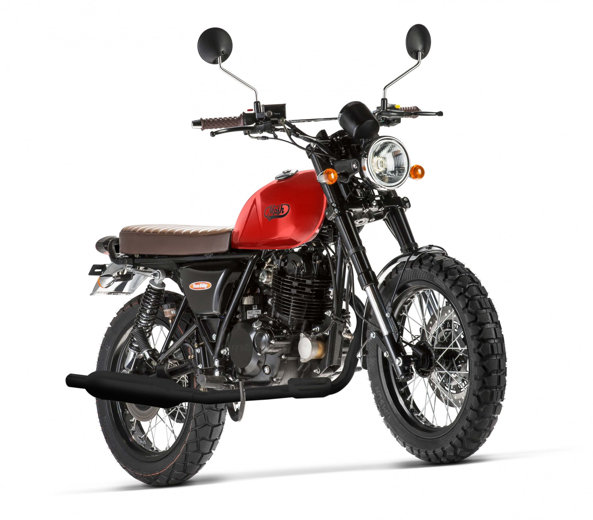 Mash Two Fifty Orange 250cc