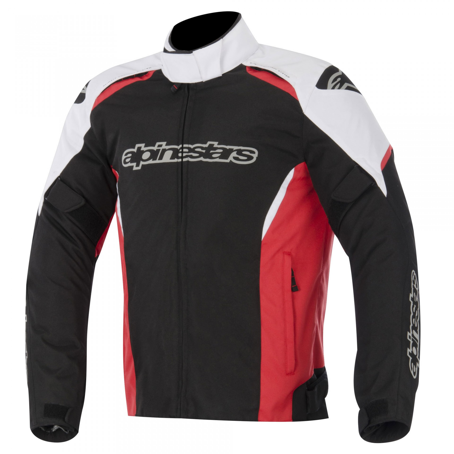 Blusão Alpinestars Gunner Preto/Vermelho/Branco