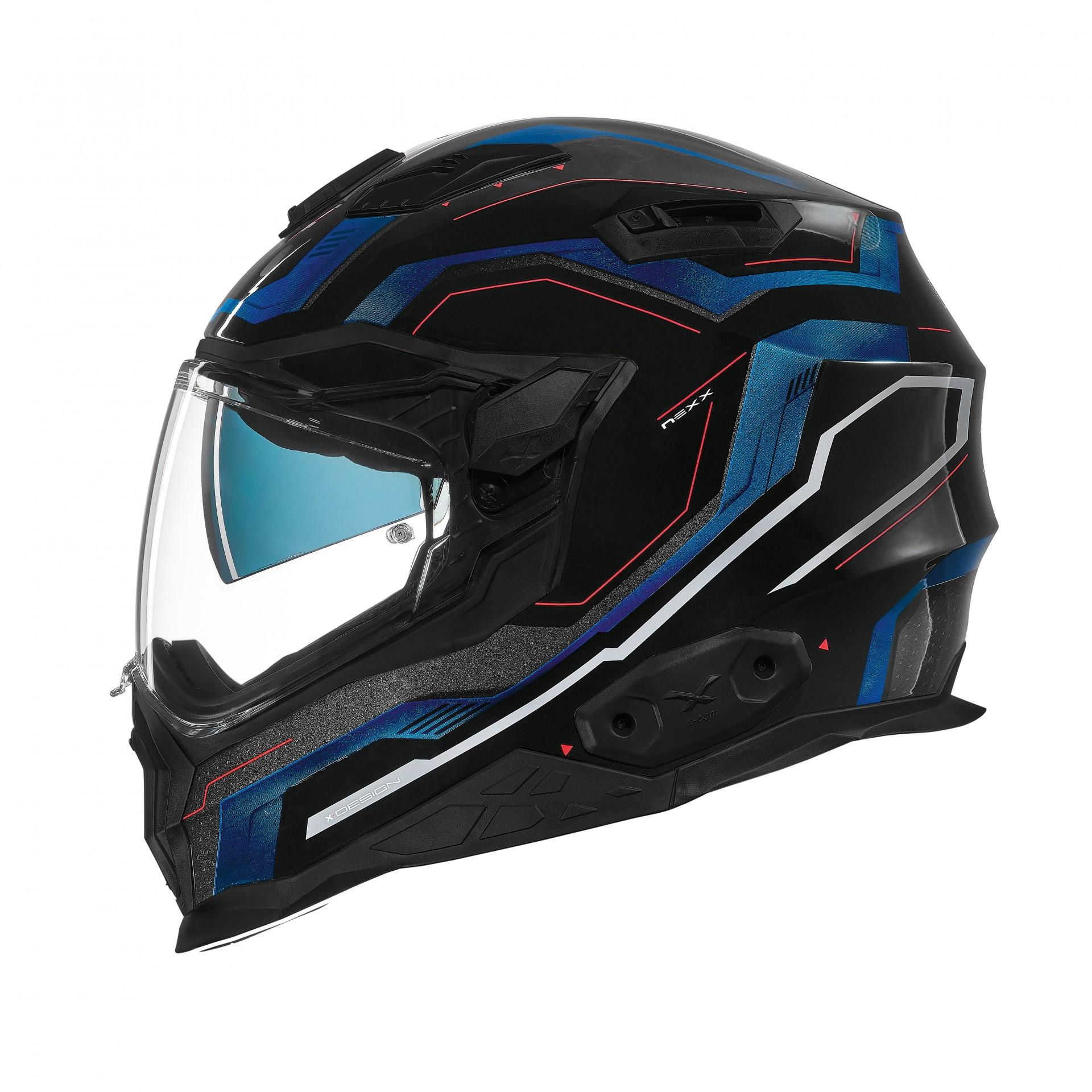 Capacete Nexx X.WST-2 Supercell Preto/Azul