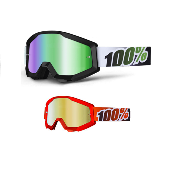 Goggles 100% Strata Lente Espelhada