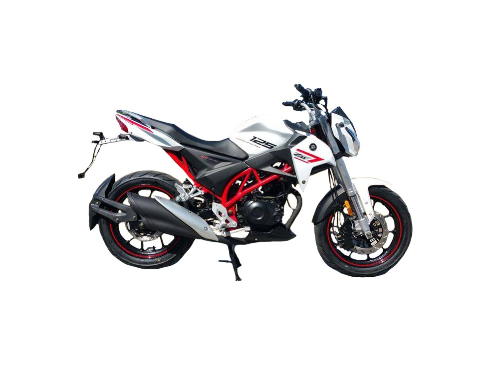 Vortex Naked Z2 White 125cc
