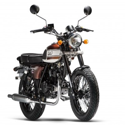 Mash Seventy Five Brown 125cc