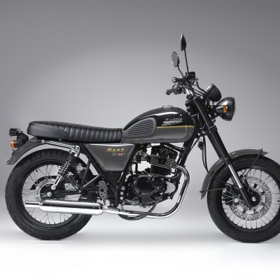 Bullit Hunt S Grey and Gold 125cc