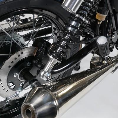 MASH CAFE RACER silver mate 125cc