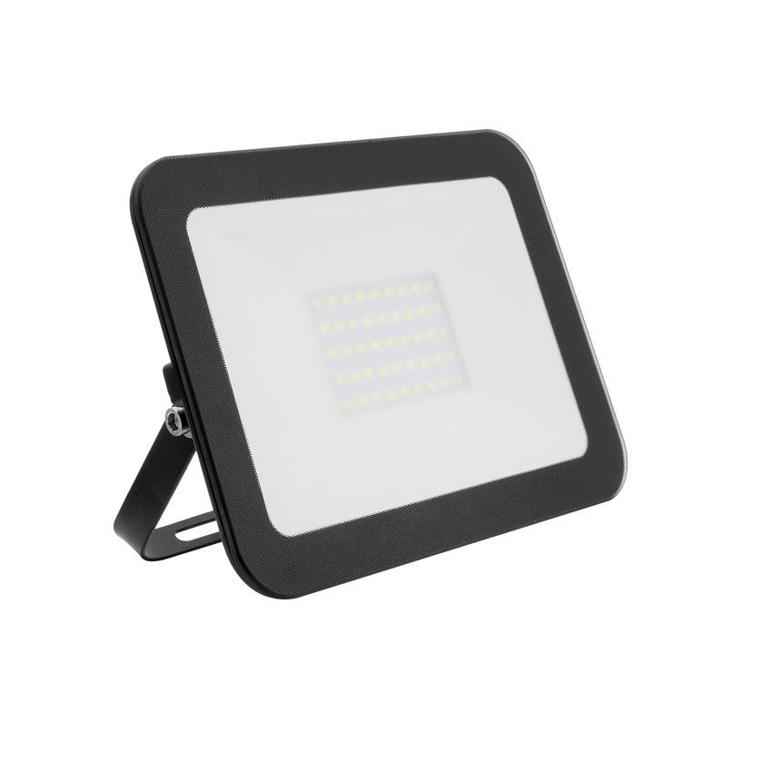 Projector LED Slim Cristal 10W Preto