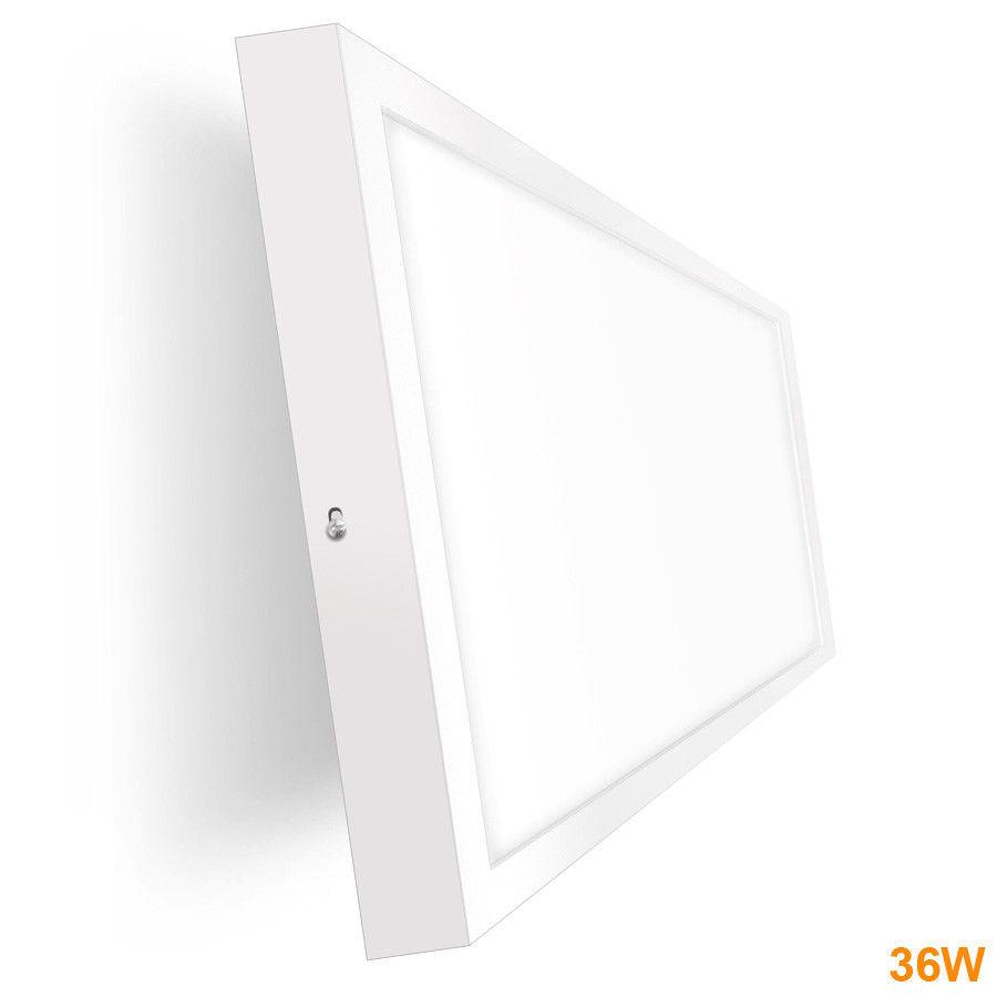 Painel  LED Saliente 36W  Branco 90x30