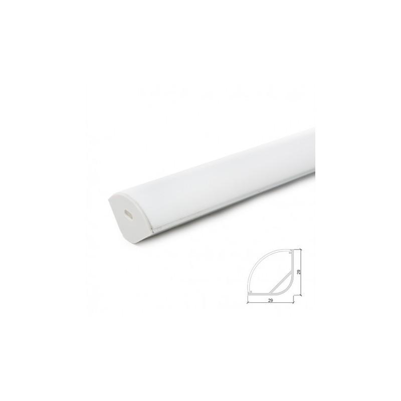 """Perfil de Aluminio """"Canto"""" para Fita LEDs"""