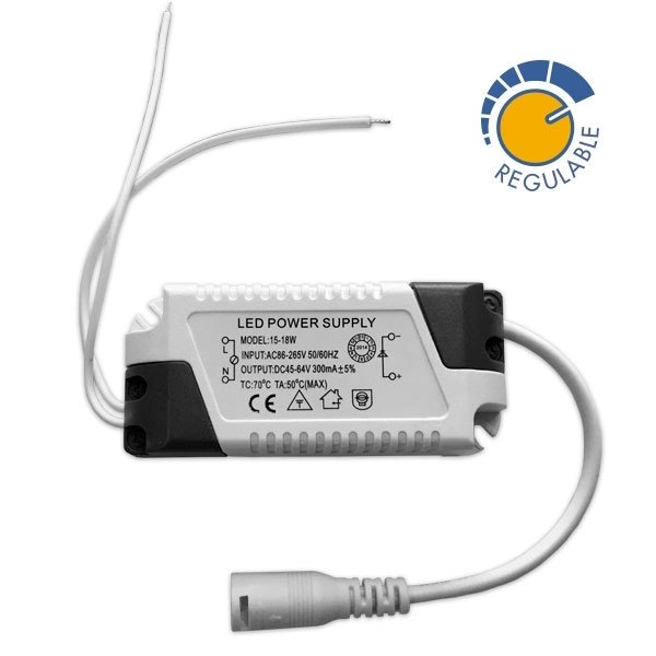 Driver p/ Painel LED  Dimável de 8 a 18W
