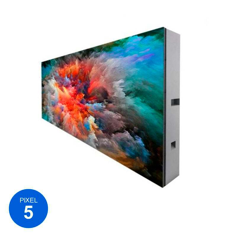 Display modular pixel 5 RGB, 144cm x 48cm