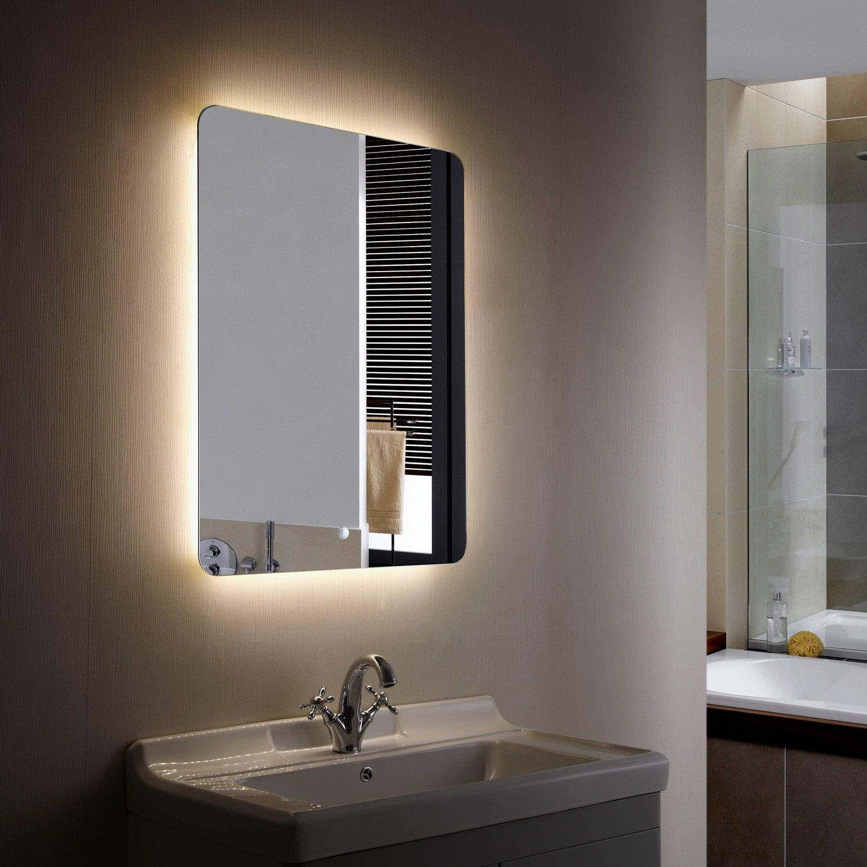 Espelho decorativo de LED selecionável CCT de Mykonos 45W