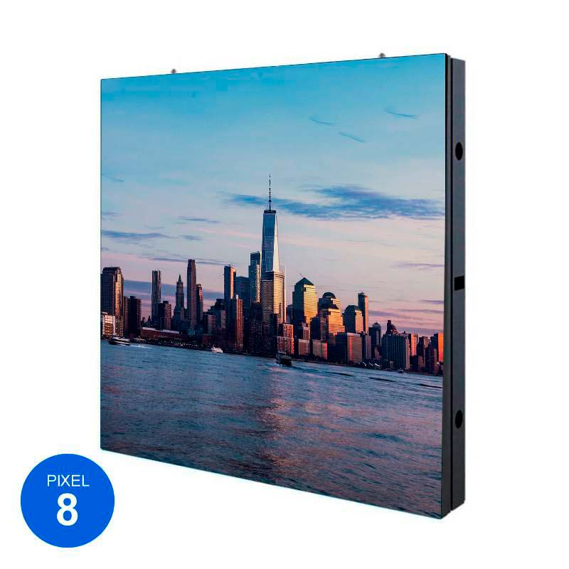 Display LED para exterior, Pixel 8, RGB, 96 x 96cm