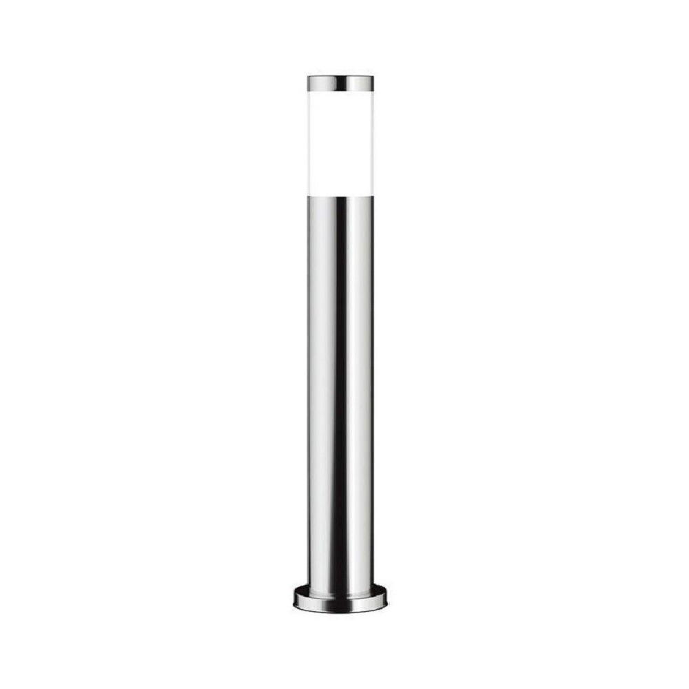 Poste para LED E27 Circular Aço Inoxidável 60cm