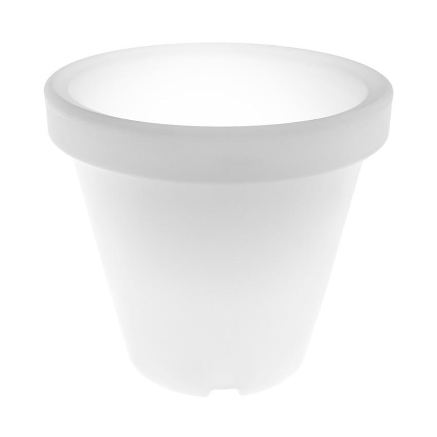 Aluguer de Vaso LED RGBW 35cm Recarregável
