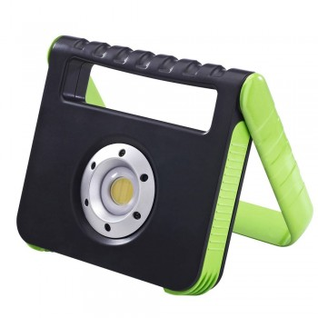 Projetor LED portátil recarregável USB 15W IP54