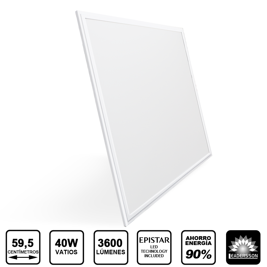 Painel LED 600x600 40W Branco URANUS