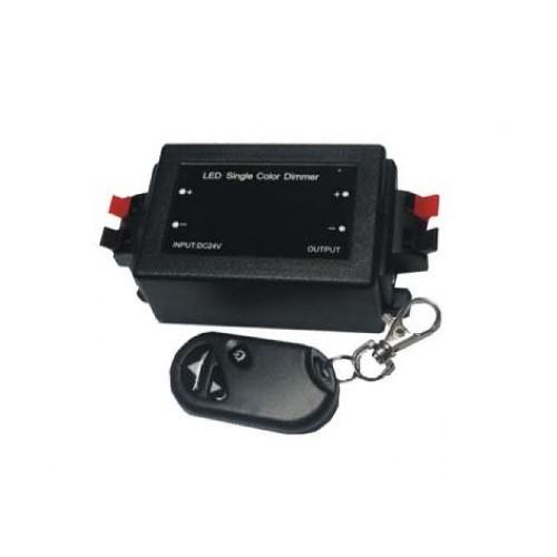 Controlador Fita # C/ Comando RF # 8A 12V (1 cor)