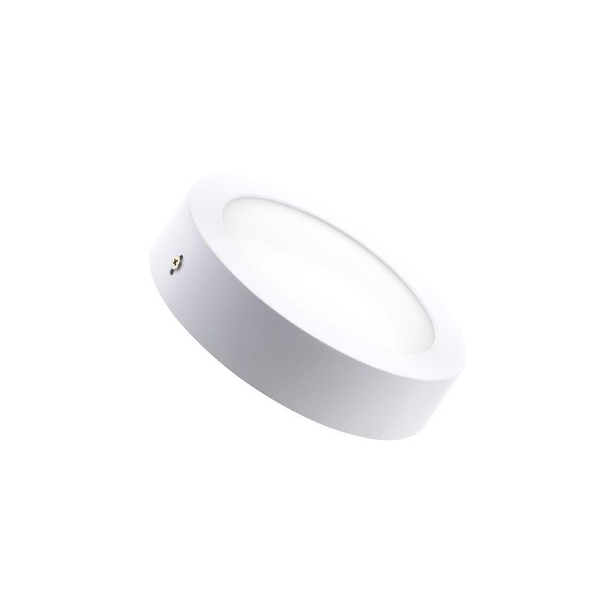 Plafon Saliente 12W 17cm Branco Temperatura Variável