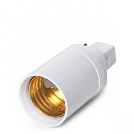 Adaptador Casquilho G24/E27