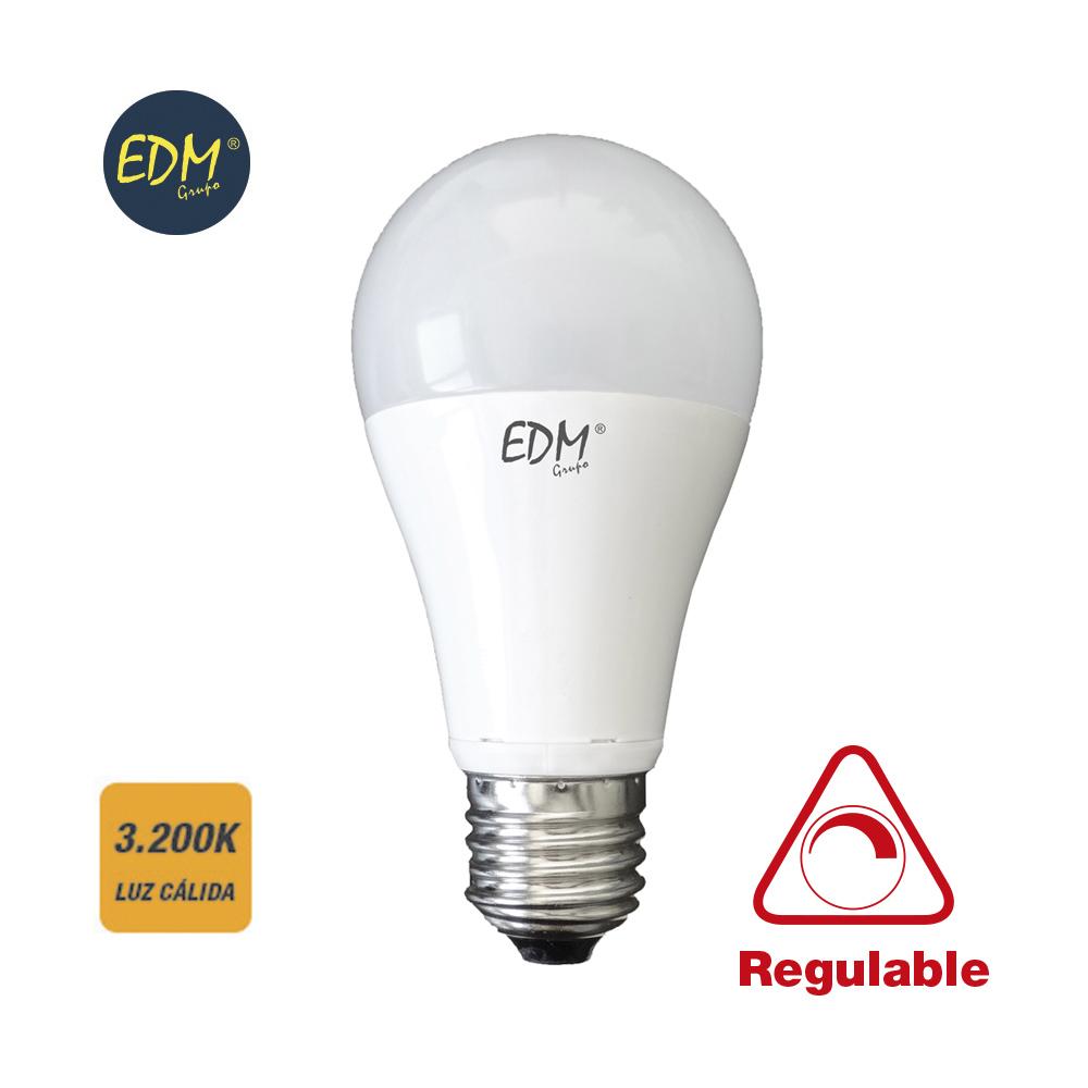 Lâmpada LED E27 A60 10W Regulável