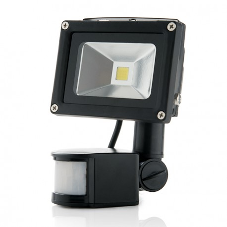 Projetor LED IP65 Detector de Movimento 10W