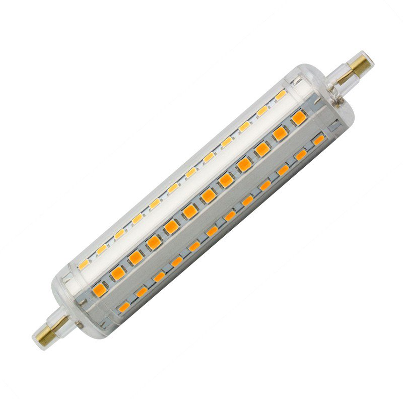 Lâmpada LED R7S Slim 118mm 10W