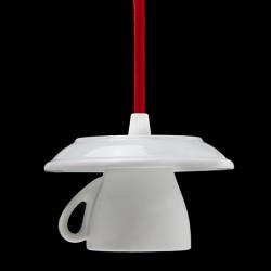 Suporte Lâmpada E27 Chávena Café Com Cabo