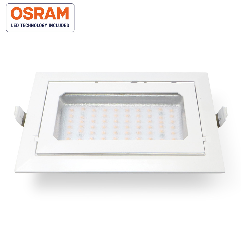 Downlight LED 40W basculante NASAU