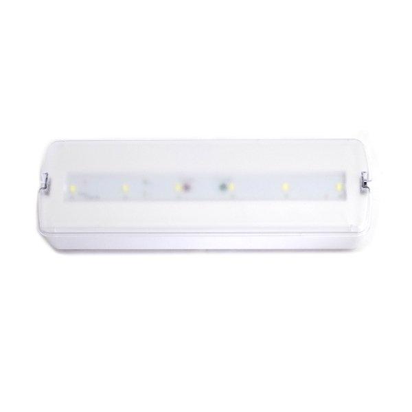 Emergencia LED 3W Permanente/Não Permanente