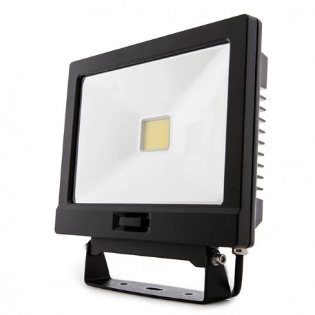 Projetor LED IP65 Detector de Movimento 50W C/ COMANDO