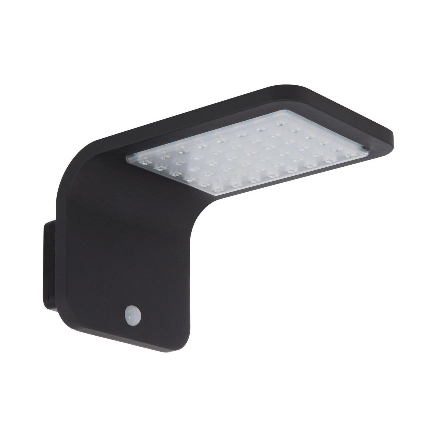 Aplique LED Solar Brasil com Detector de Movimento PIR IP65