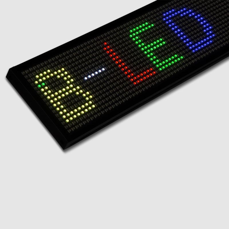 Reclame LED PROGRAMÁVEL RGB 500X95MM WIFI / USB