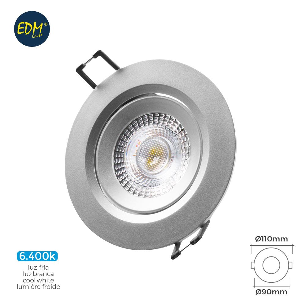 DOWNLIGHT LED  5W REDONDO Cromado