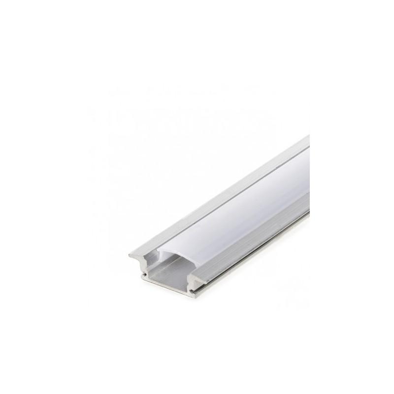 Perfil de Alumínio c/Abas para LEDs