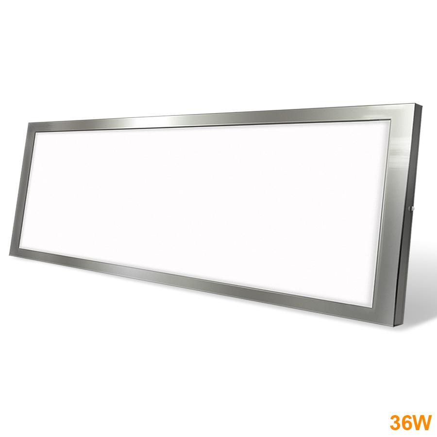 Painel LED Saliente 36W  Níquel 90x30