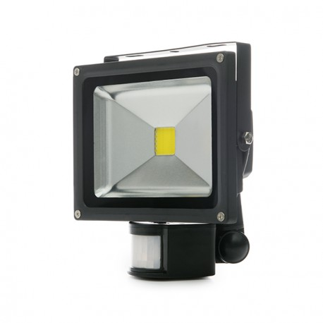 Projetor LED IP65 Detector de Movimento 20W