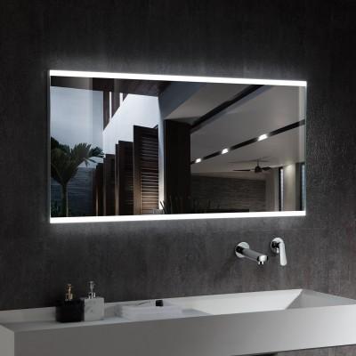 Espelho decorativo de LED CCT seleccionável com sensor de proximidade 100W de Veneza