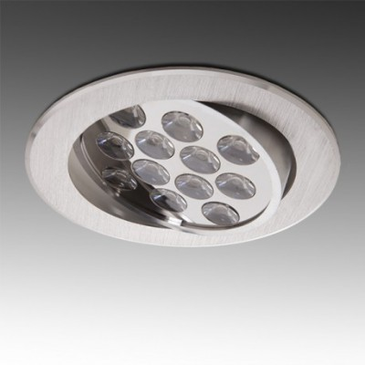 Downlight 12W Orientável