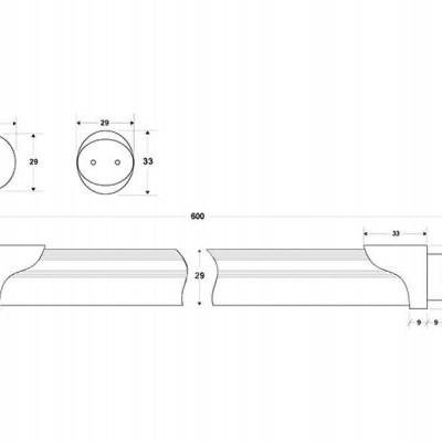 Tubo de LED T8 8W, 60cm, PLANT GROW