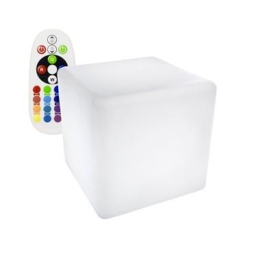 Cubo LED RGBW Recarregável
