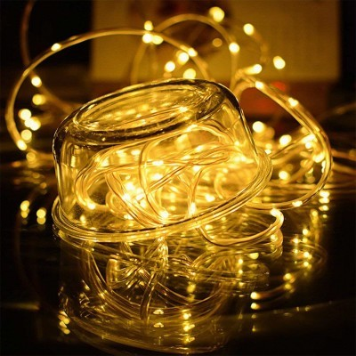 Grinalda de Fita LED com Carregador Solar