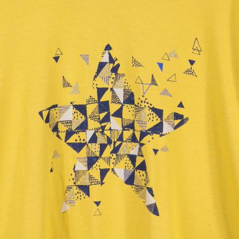 Camisola amarela estrela Catimini