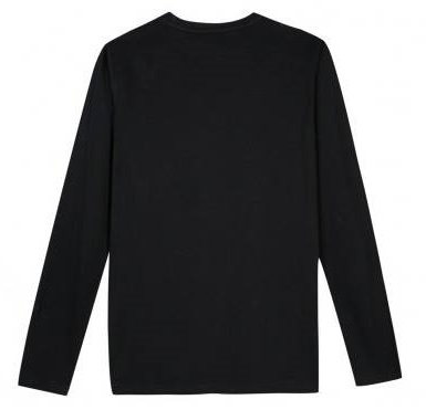 Camisola preta manga comprida Beckaro